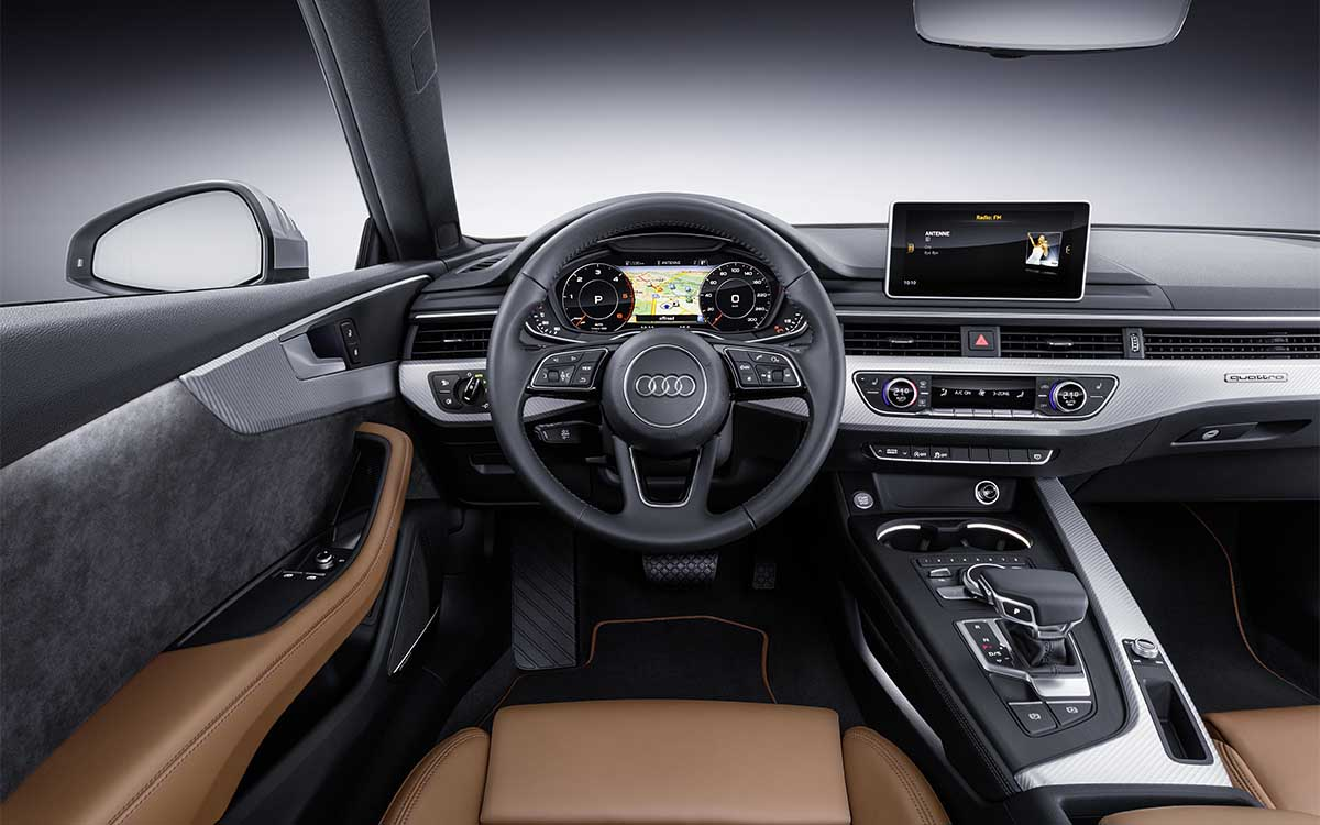 A5 Coupe Interior fx