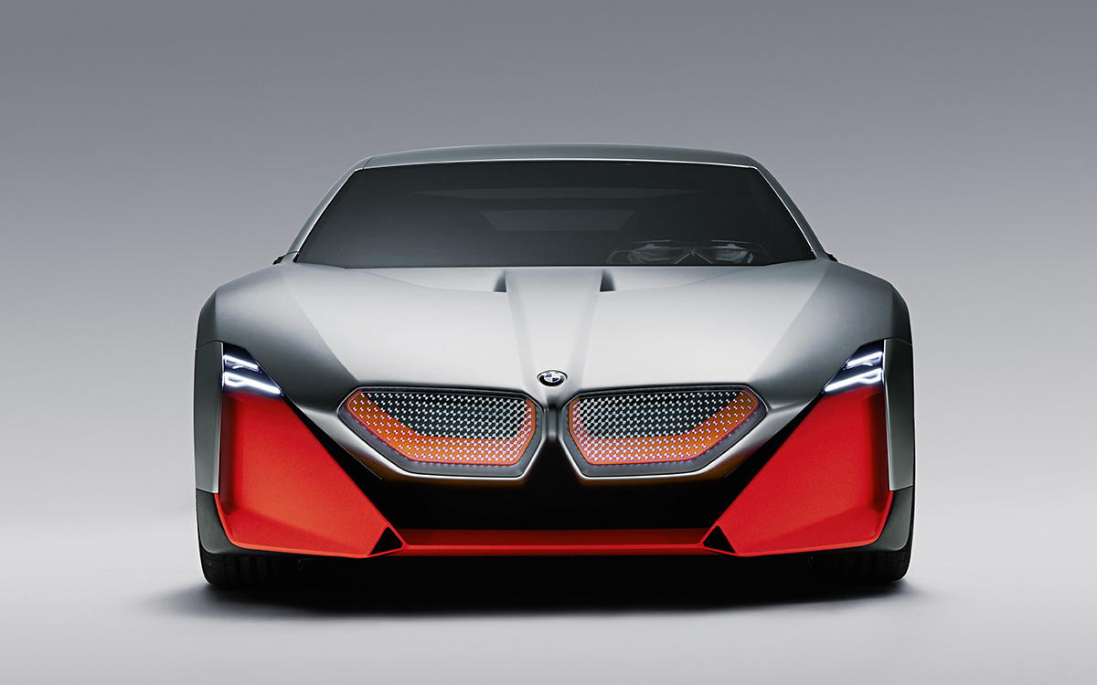 BMW Vision M NEXT frontal estudio fx