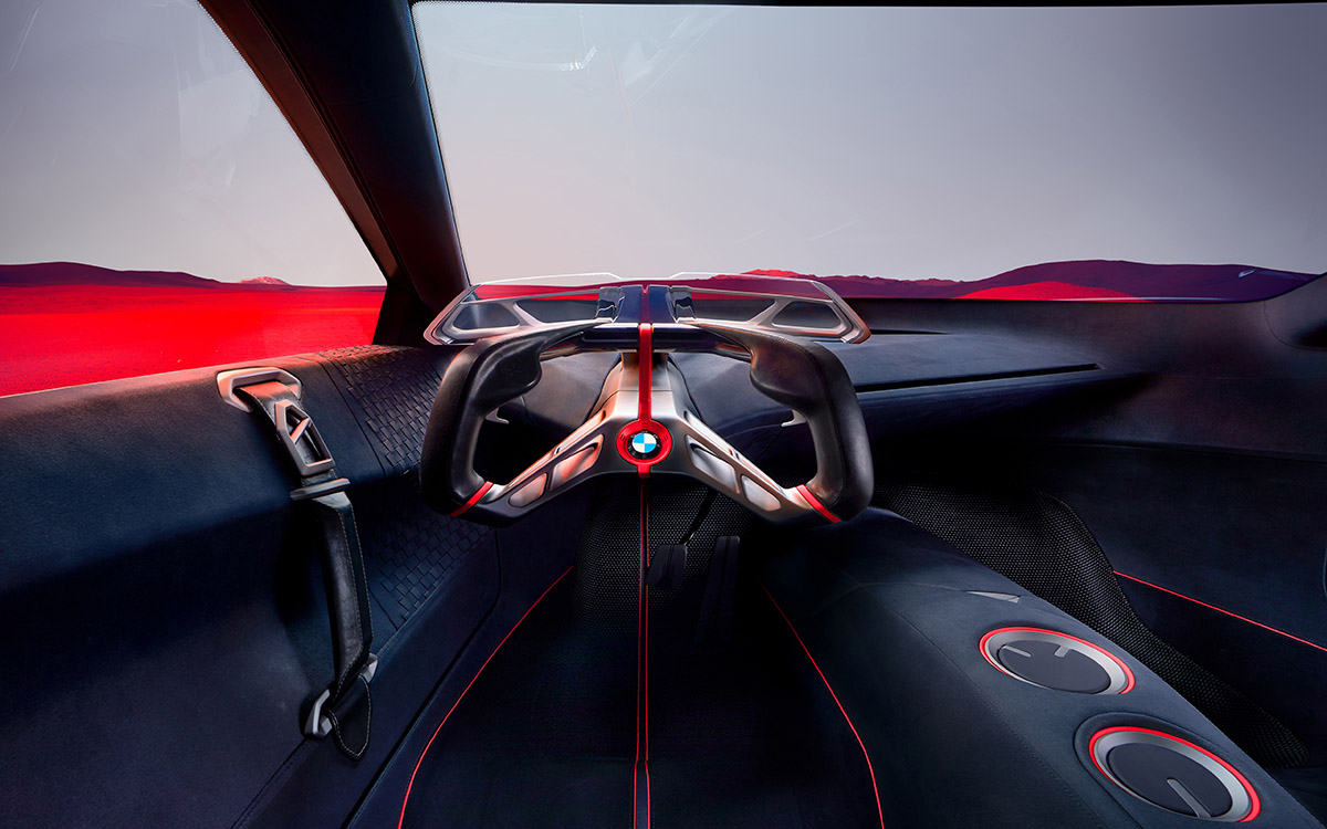 BMW Vision M NEXT interior aerea fx