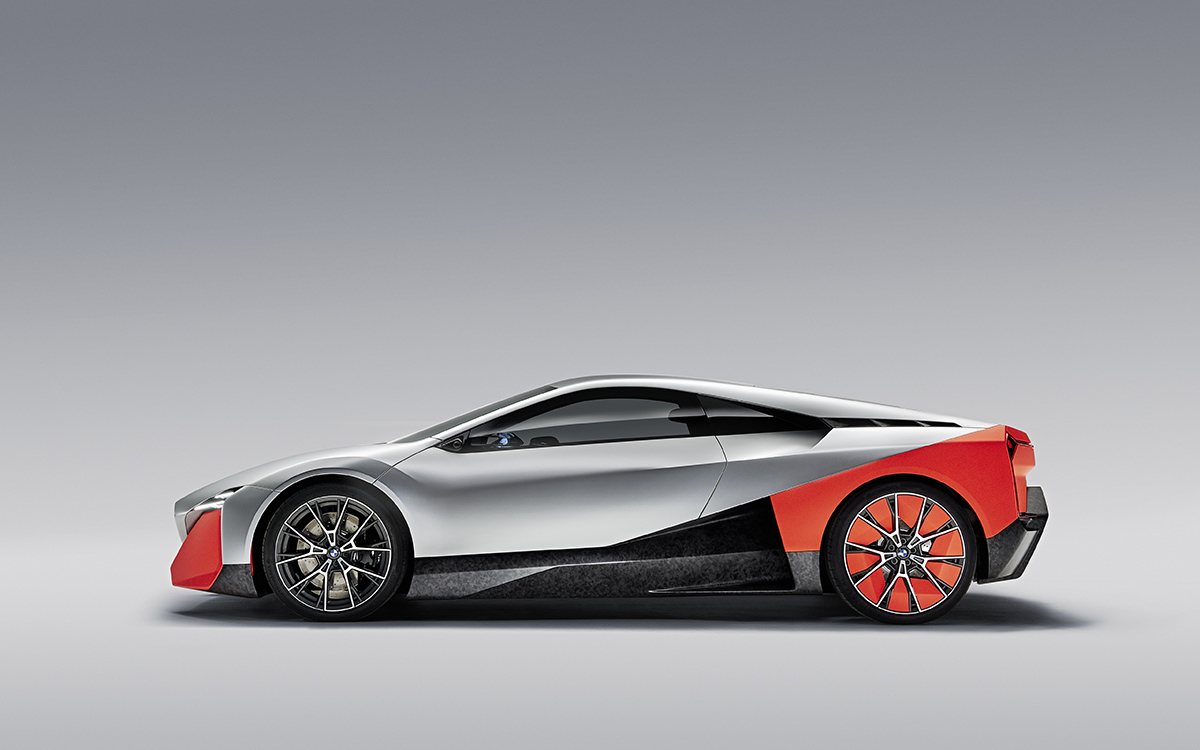BMW Vision M NEXT lateral estudio fx