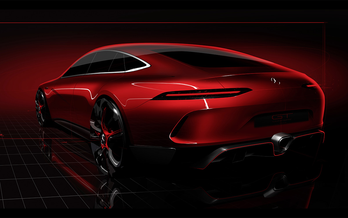 Mercedes AMG GT Concept Cover fx