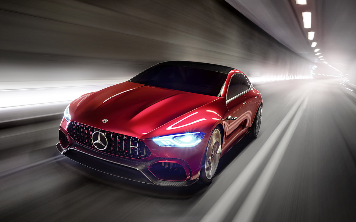 Mercedes AMG GT Concept Frente Tunel fx