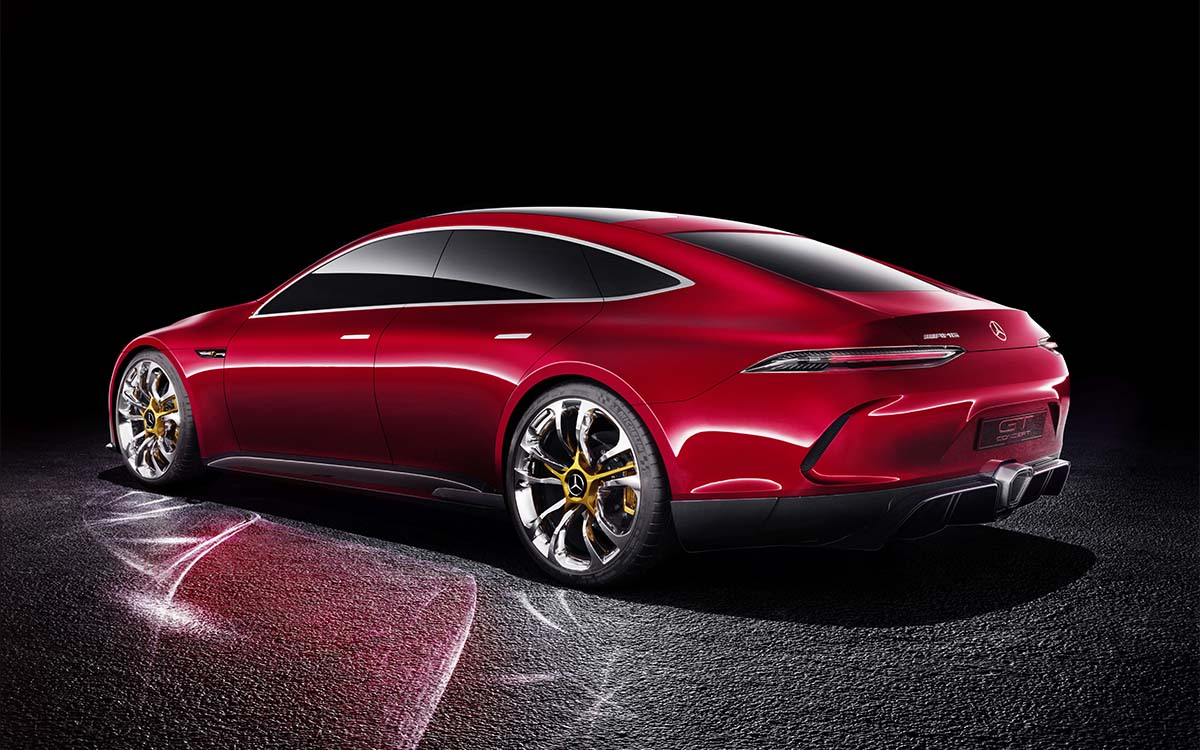 Mercedes AMG GT Concept Lateral Trasera fx