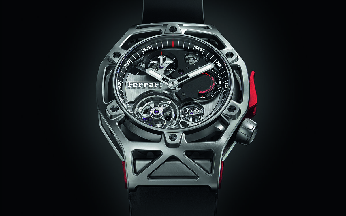 Ferrari Tourbillon Chronograph Frontal fx