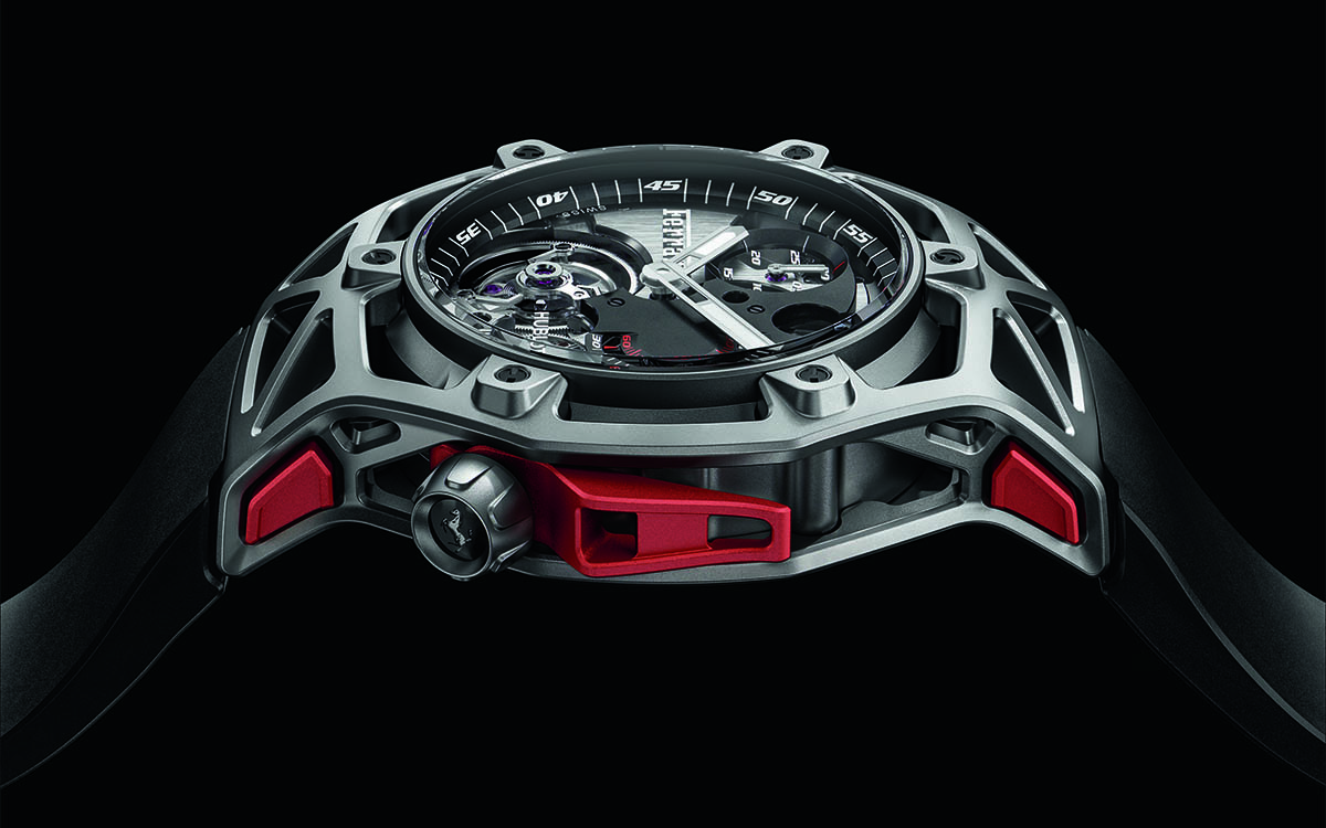 Ferrari Tourbillon Chronograph Lateral fx