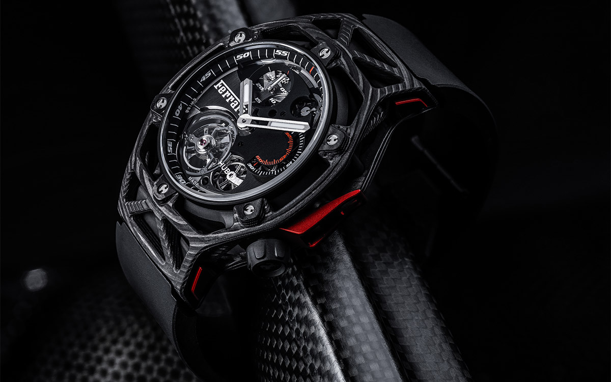 Ferrari Tourbillon Chronograph PEEK Carbon fx