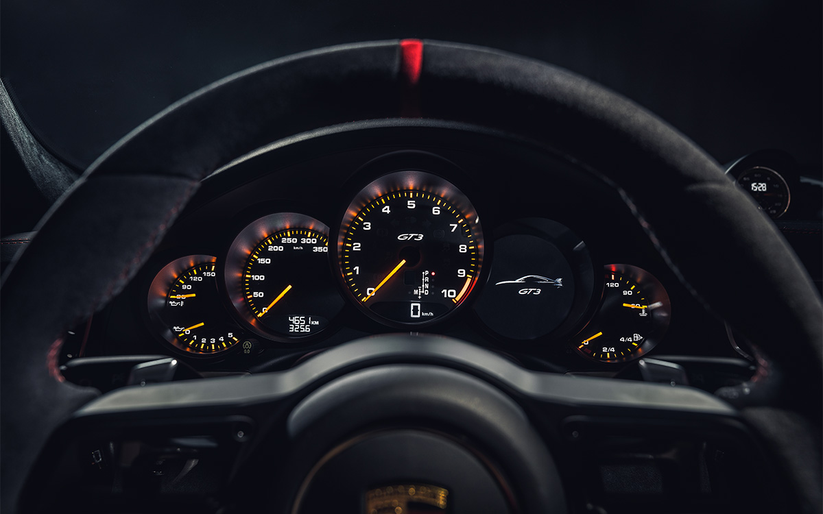 911 GT3 16 Instrument Display fx