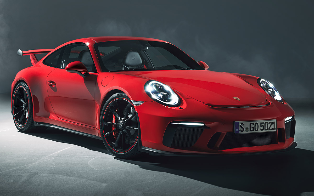 911 GT3 1 Front Three Quarter fx