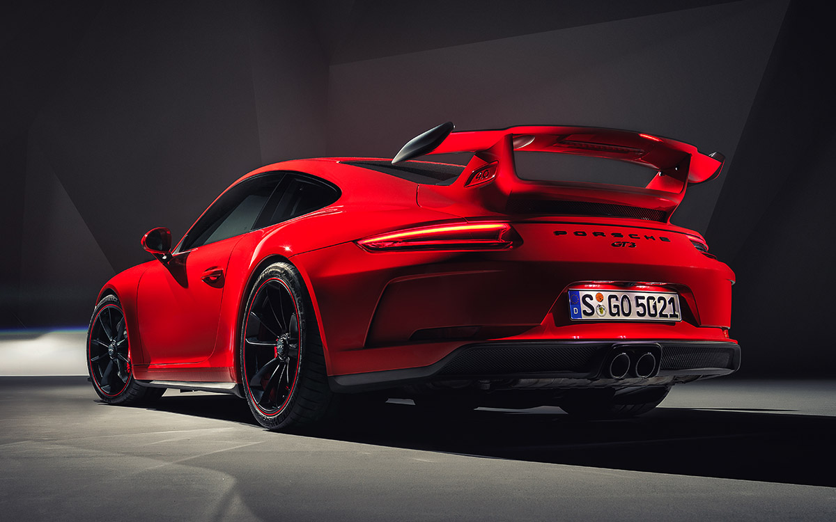 911 GT3 9 Rear Three Quarter Light fx