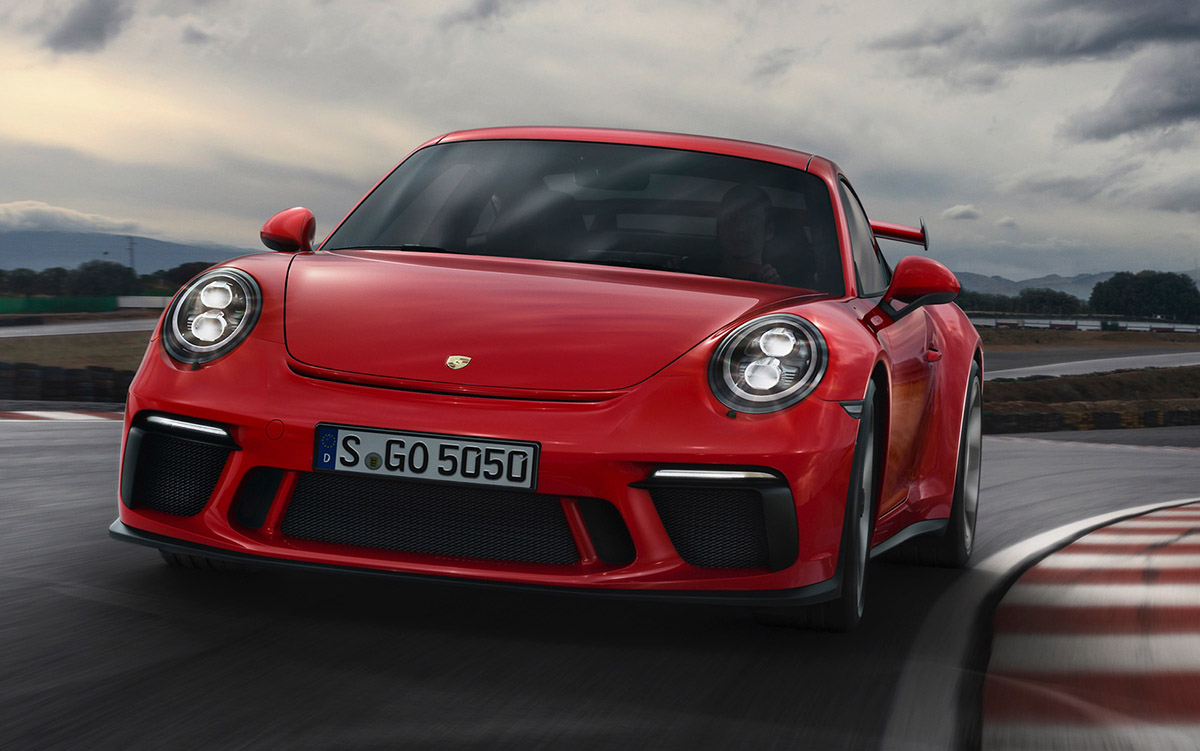 911 gt3 201 Frontal fx