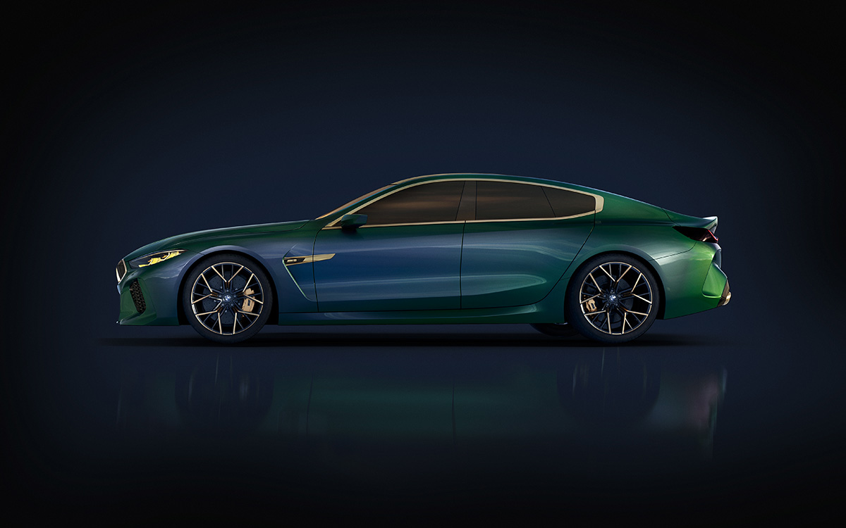 BMW Concept M8 Gran Coupe lateral 2 fx