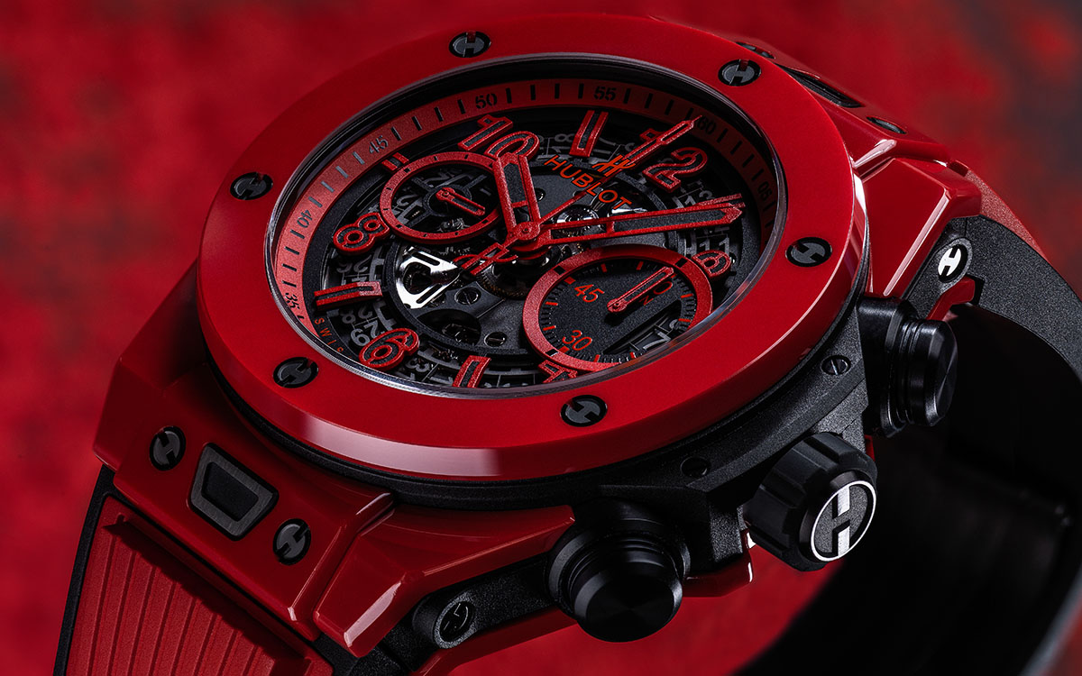 Hublot Big Bang Unico Red Magic cover fx