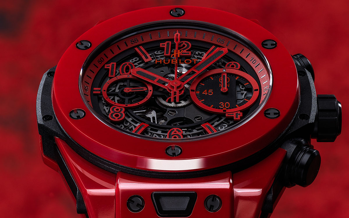 Hublot Big Bang Unico Red Magic frente fx