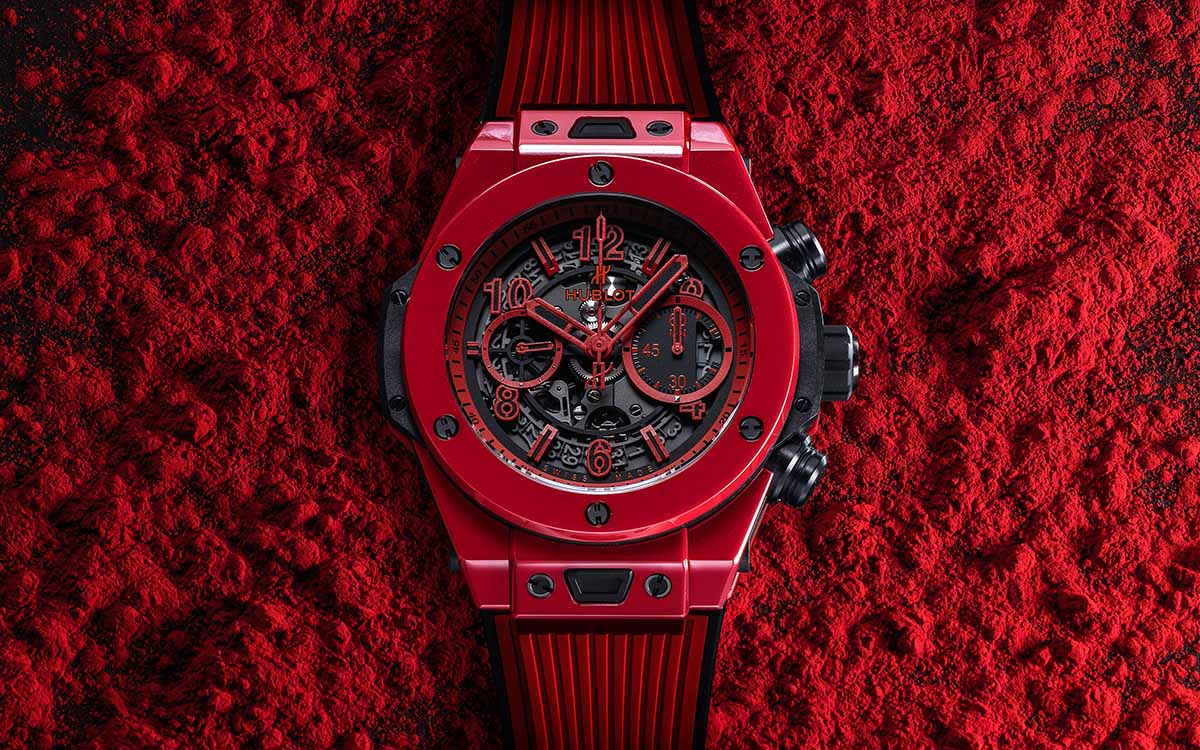 Hublot Big Bang Unico Red Magic frontal 2 fx