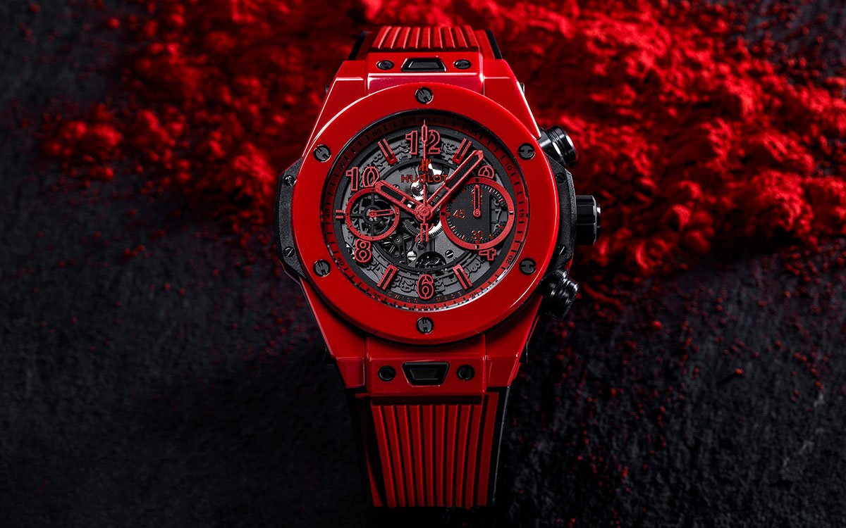 Hublot Big Bang Unico Red Magic frontal fx