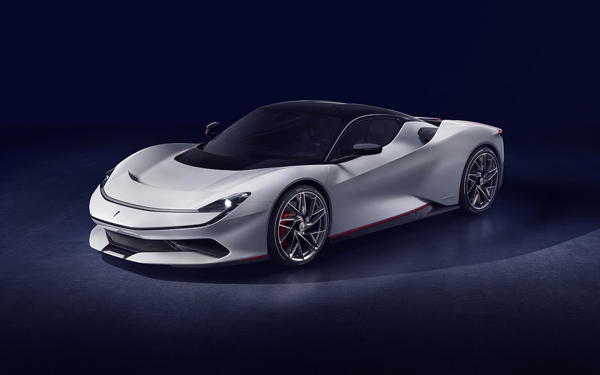 Pininfarina Battista 3 4 cover fx