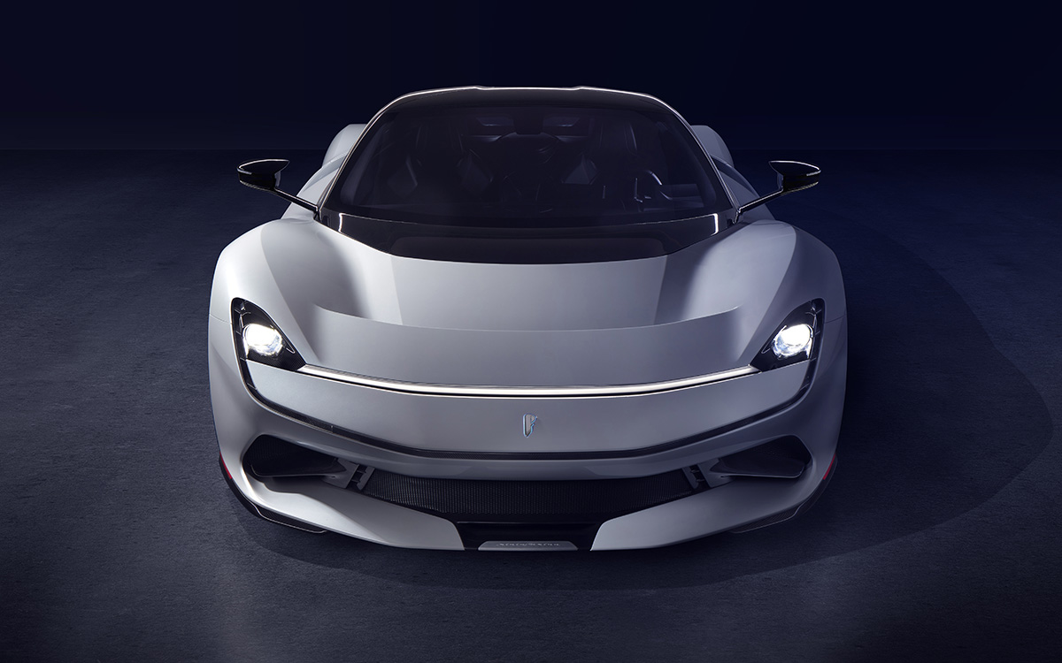 Pininfarina Battista frontal fx