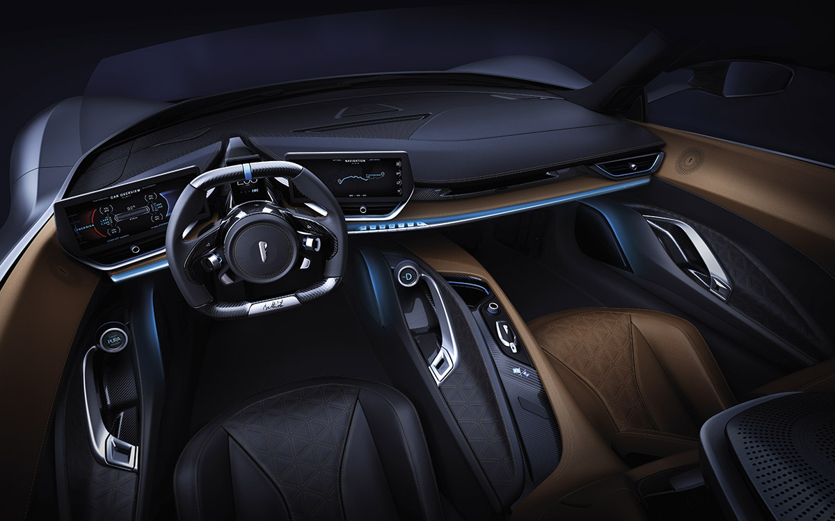 Pininfarina Battista interior fx