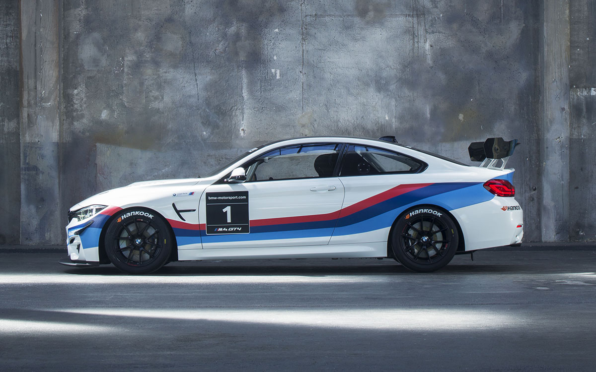 BMW M4 GT4 Lateral fx