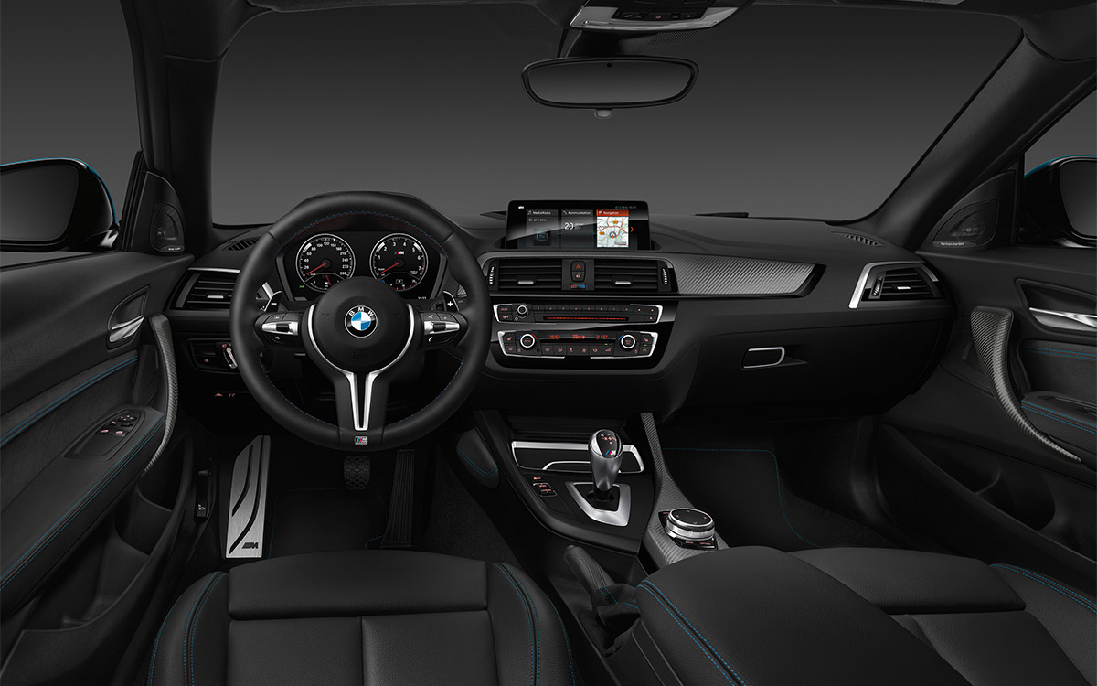 BMW Serie 2 Coupe Interior Aerea fx
