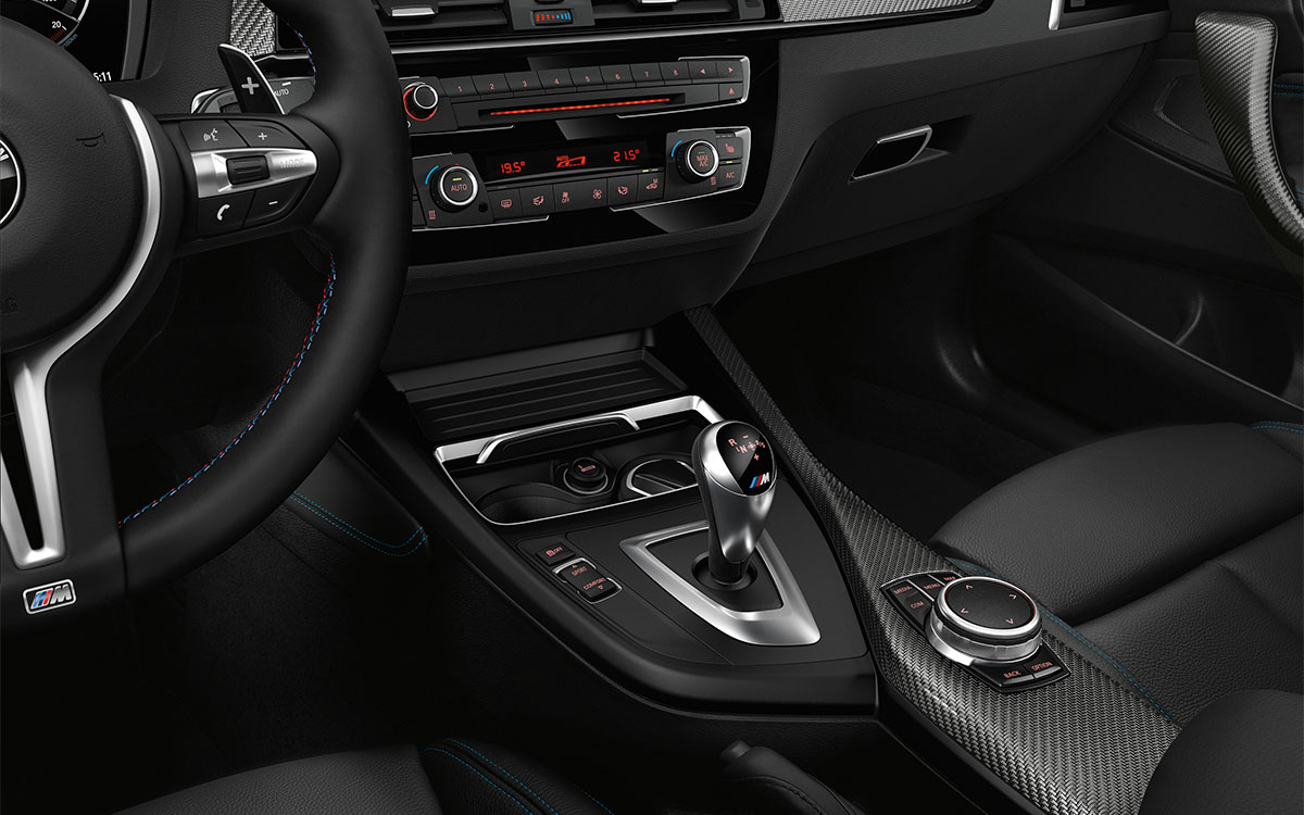 BMW Serie 2 Coupe Interior Detalle fx