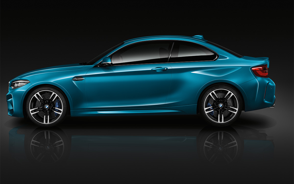 BMW Serie 2 Coupe Lateral fx
