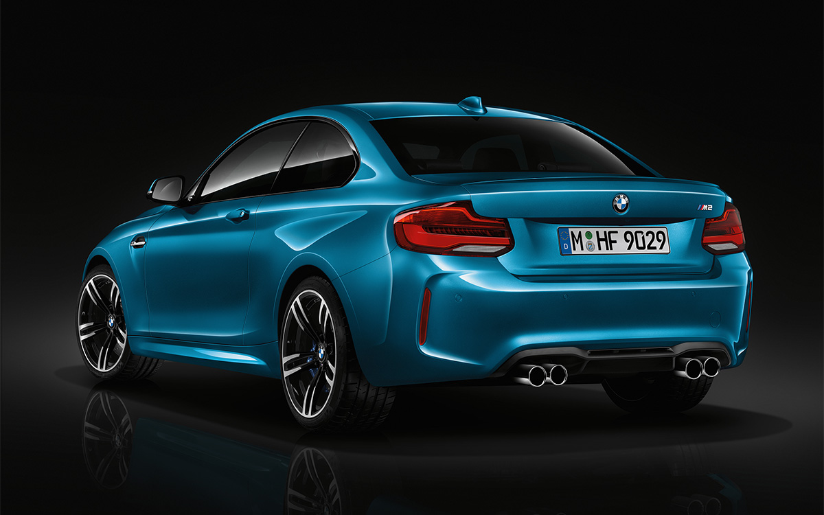 BMW Serie 2 Coupe Trasera 3 4 fx