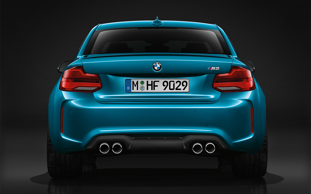BMW Serie 2 Coupe Trasera fx