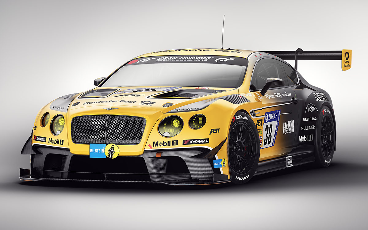 Bentley Team ABT Continental GT3 fx