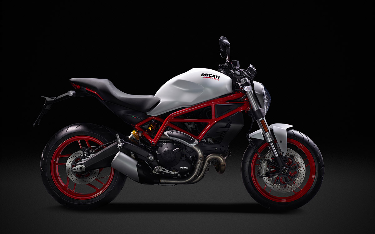 Ducati Monster 797 Lateral Blanca fx