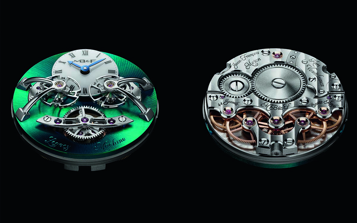 MBF Legacy Machine Nº 2 Titanium Engine fx