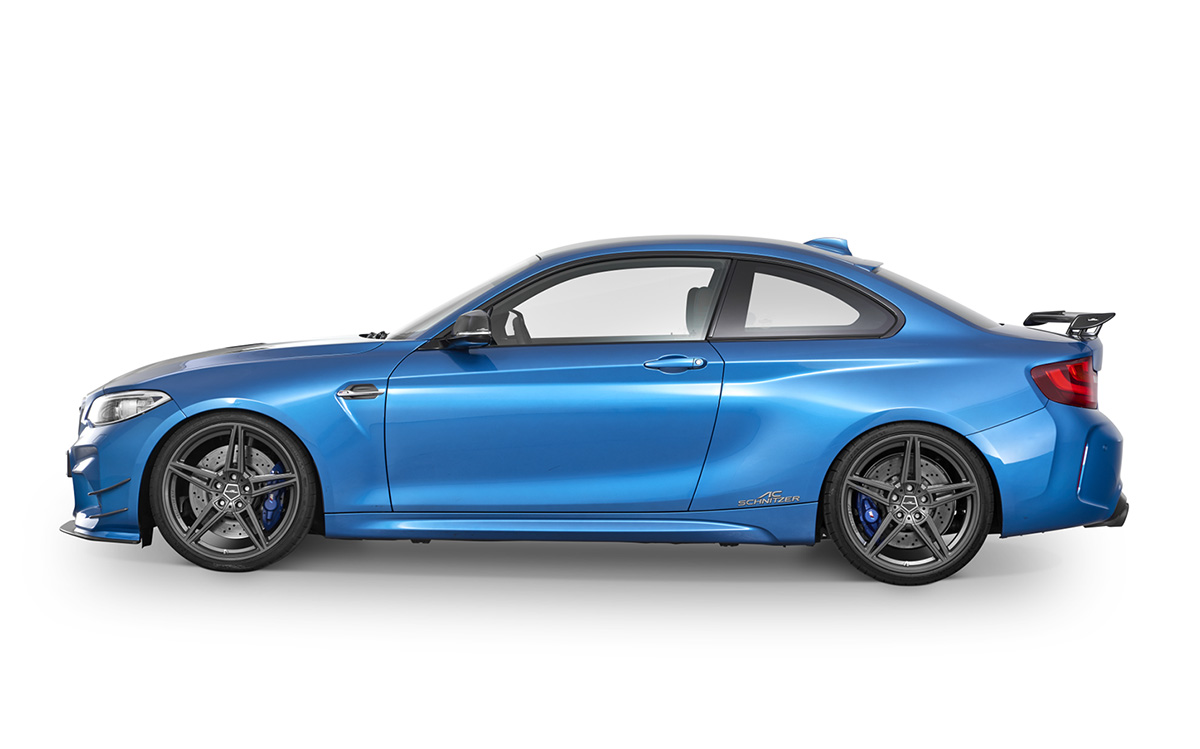BMW M2 F87 Lateral