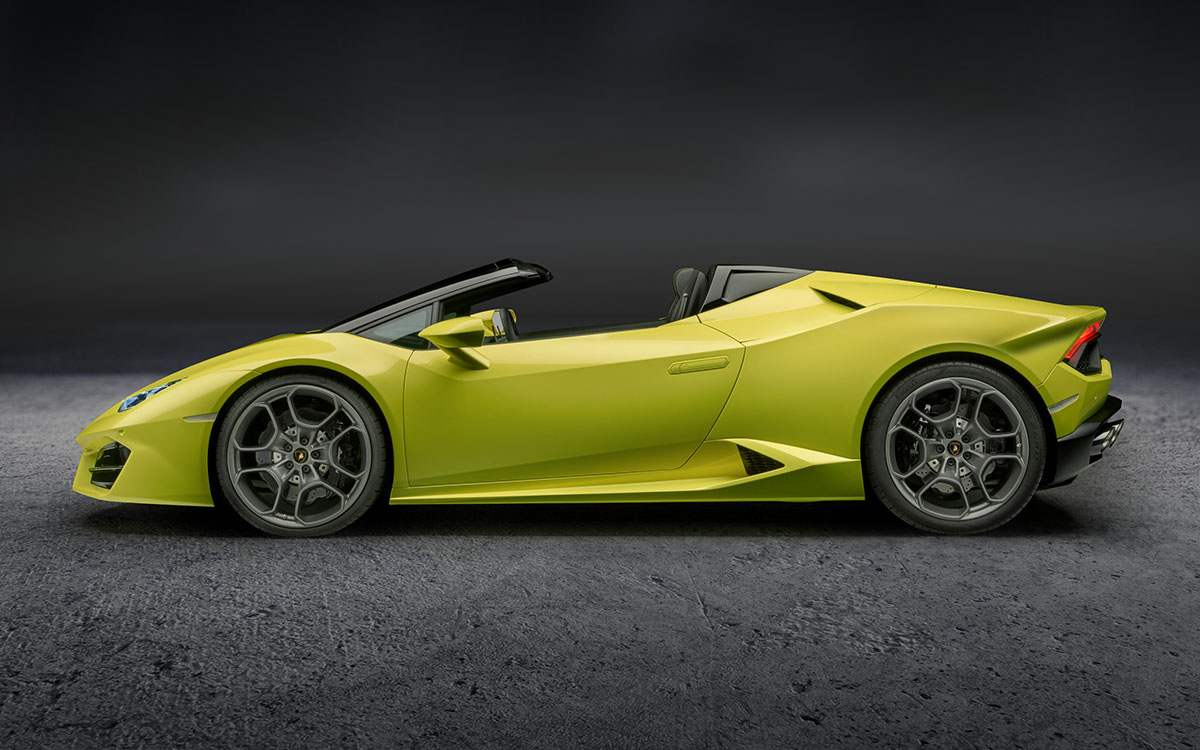 Huracan RWD Spyder Lateral fx
