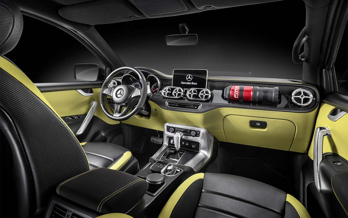 Mercedes Benz Concept X Class Interior Am fx