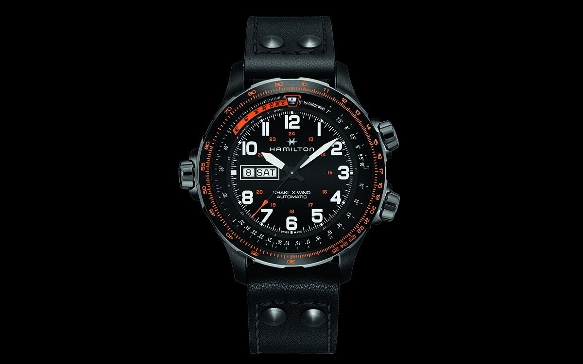 Hamilton Khaki X Wind Day Date Black fx
