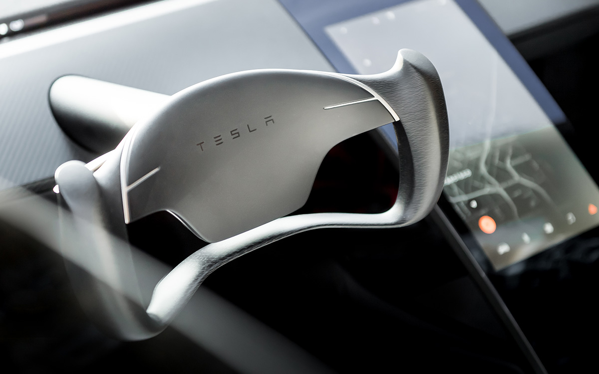 Tesla Roadster interior fx
