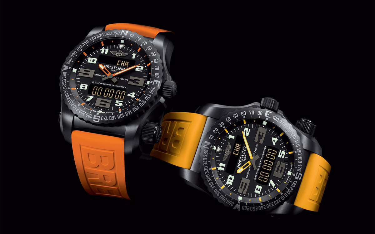 Breitling Emergency Night Mission Cover fx