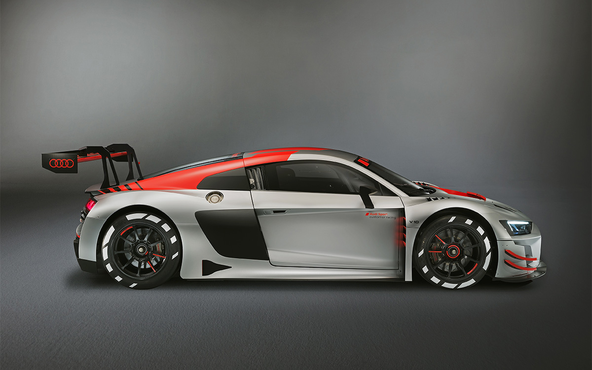 Audi R8 LMS GT3 lateral fx