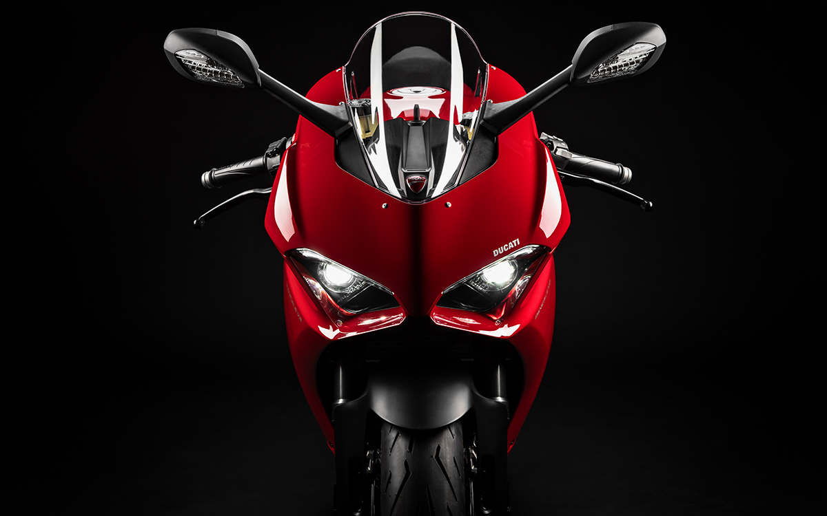 Ducati Panigale V2 frontal luces fx