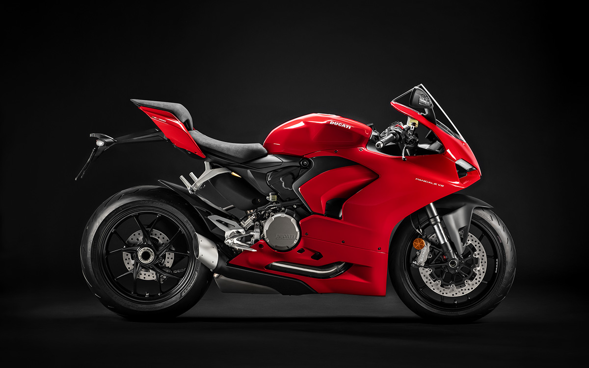 Ducati Panigale V2 lateral der fx