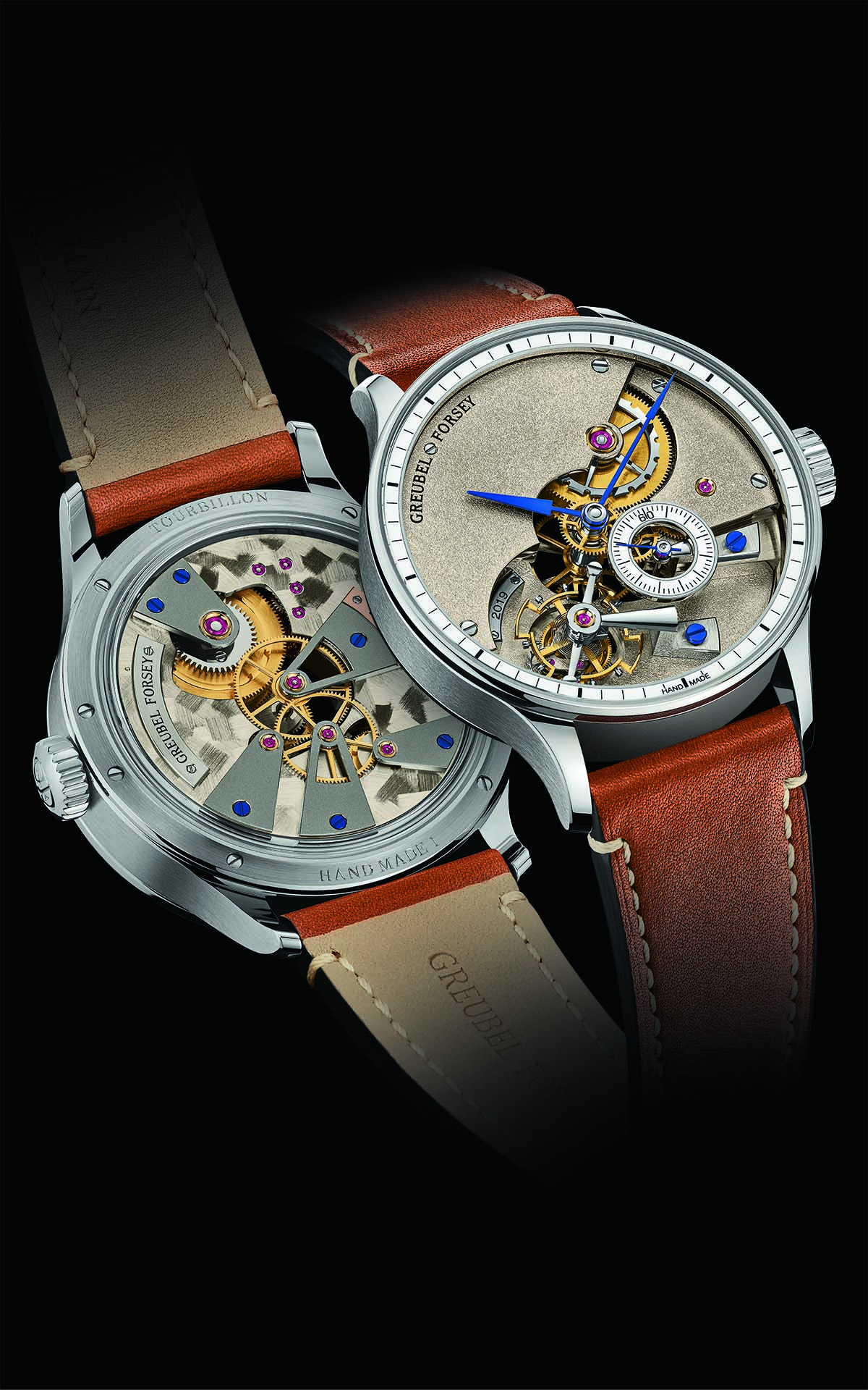 Greubel Forsey Hand Made 1 frente y trasera fx