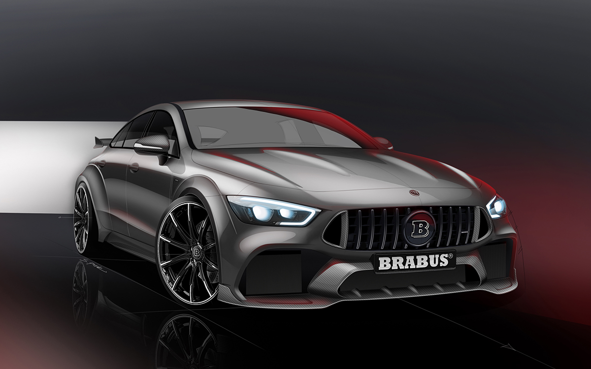 brabus rocket 900 one of ten cover render fx