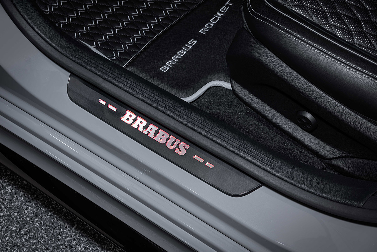 brabus rocket 900 one of ten estribo fx