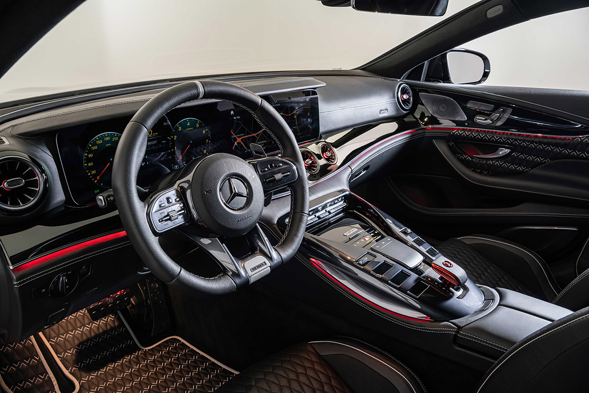 brabus rocket 900 one of ten interior fx