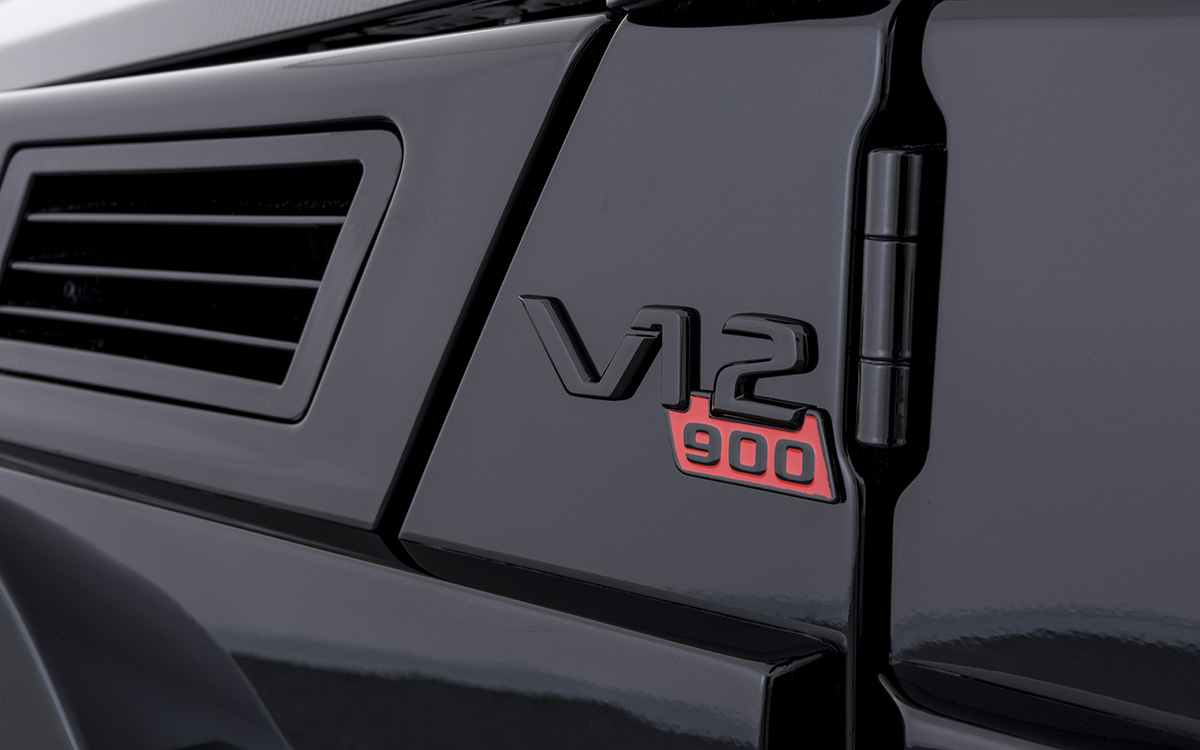 BRABUS 900 One of Ten V12 logo fx