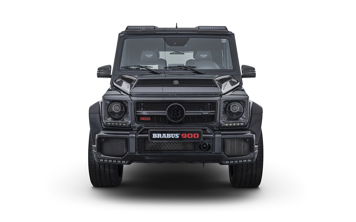 BRABUS 900 One of Ten frontal fx