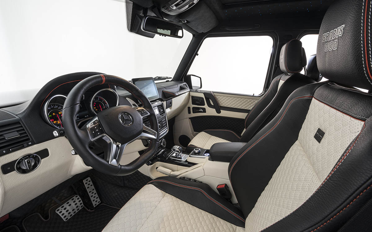 BRABUS 900 One of Ten interior volante fx