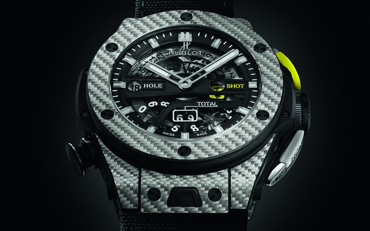 Hublot Big Bang Unico Golf Black Frontal fx