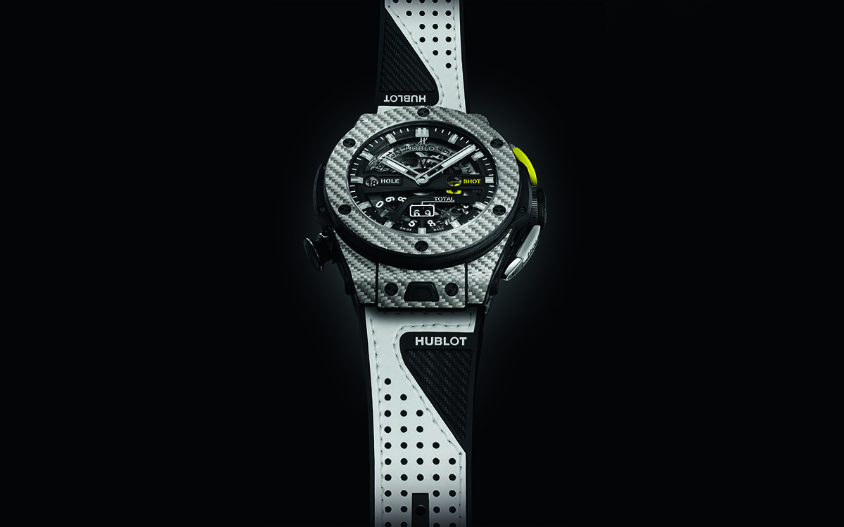 Hublot Big Bang Unico Golf Black W Frontal fx