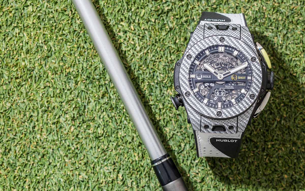 Hublot Big Bang Unico Golf Green fx